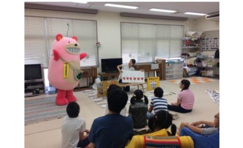 絵本読み聞かせ~社会福祉法人新潟もぐら会 ハロー・キッズ~