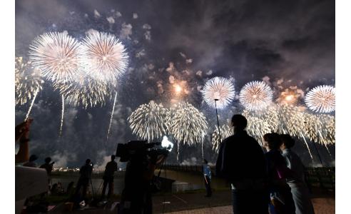 長岡花火が伝える平和への思い(BSNテレビ「水曜見ナイトSP」)