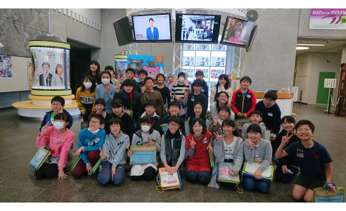 【見学日記】新潟市立白山小学校5年生のみなさん