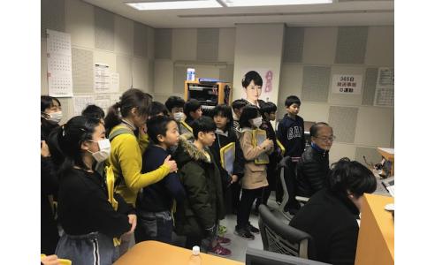 【見学日記】新潟市立山の下小学校5年生のみなさん