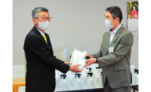 微酸性次亜塩素酸水300セットを新潟市内の保育施設へ無償提供