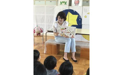 【読み聞かせリポート】新潟市立沼垂幼稚園