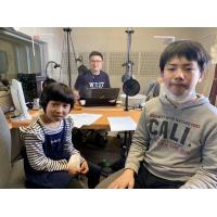 キッズラジオ 富美奈&和孝パーソナリティ