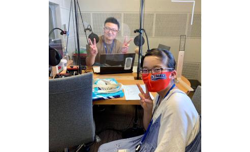 キッズラジオ 桃子パーソナリティ