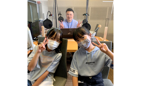 キッズラジオ 有咲&美咲パーソナリティ